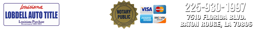 Baton Rouge DMV and Notary Services